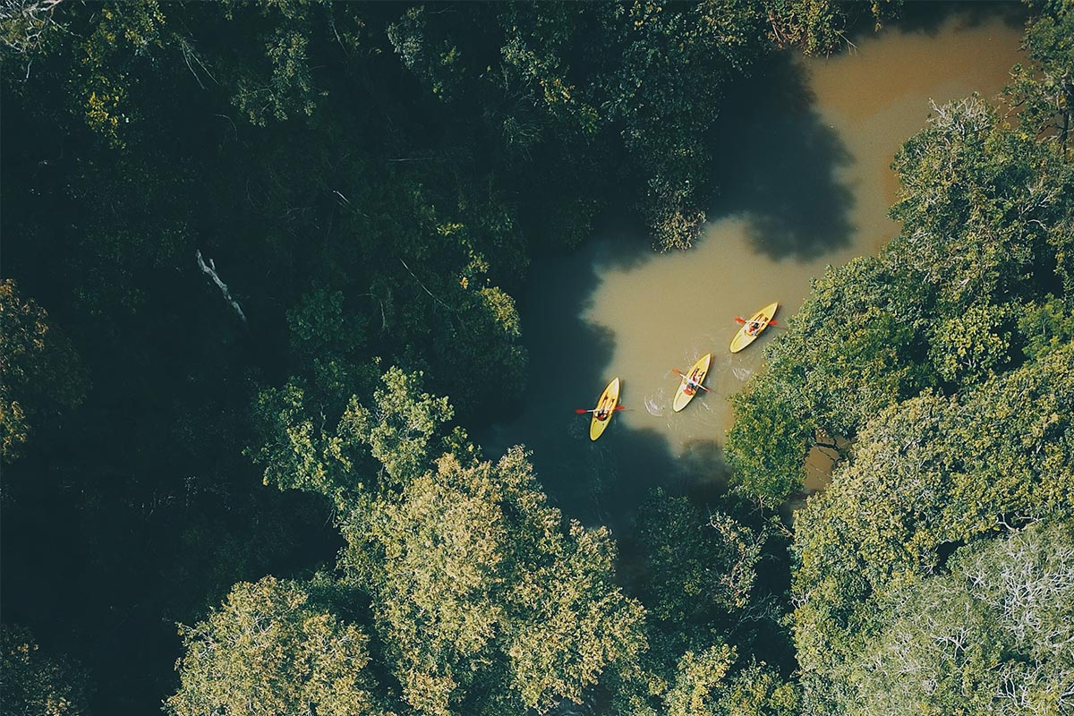 Excursions kayak Arroyo Yacui - Awasi Iguazu - PH Clara CaoReisekonzept